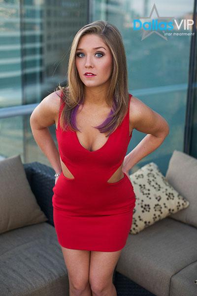 Model Amanda Dallas Vip