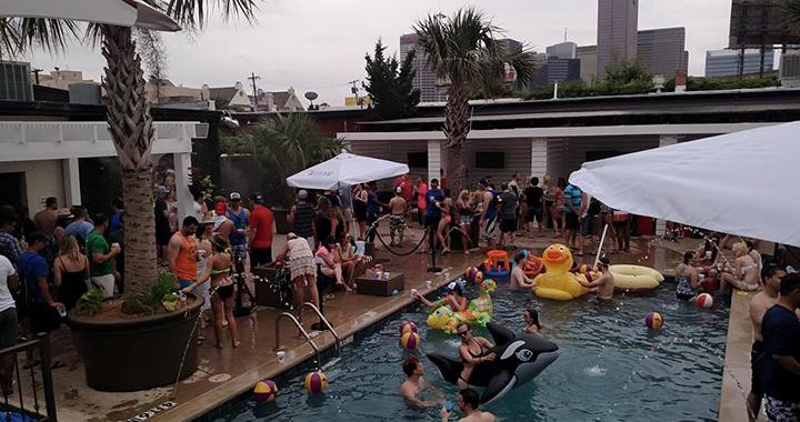 Bungalow Beach Club Cabana Pool Party Dallas Texas