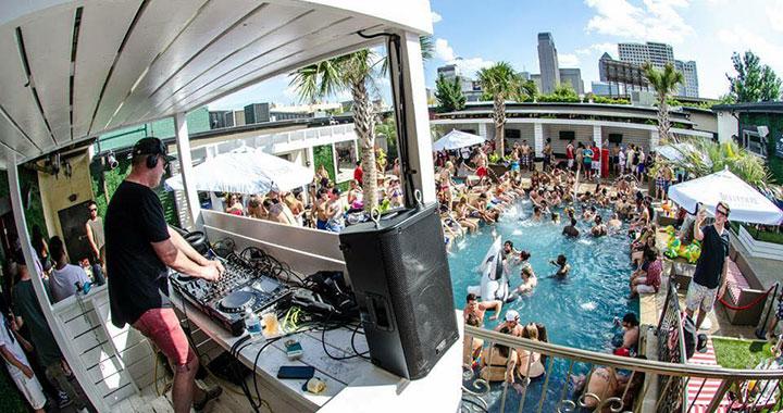 Bungalow Beach Club Pool Party Dallas Vip