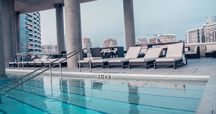 WET Deck Pool Party at the W Hotel | Dallas VIP