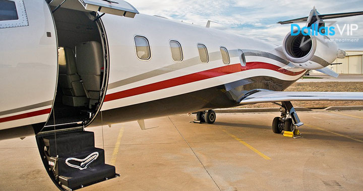 Dallas private jet