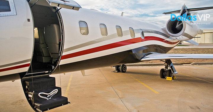 Private Jets Charter  Dallas VIP