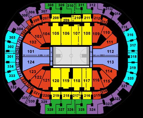 Seating chart dallas mavericks
